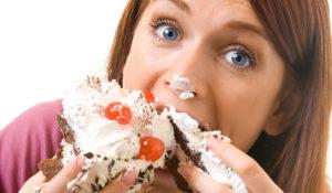 еда и потливость