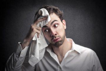 Почему сильно потеет голова у мужчины разбираемся в причинах
