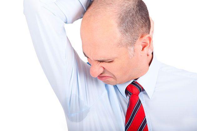 Симптомы гипергидроза подмышек