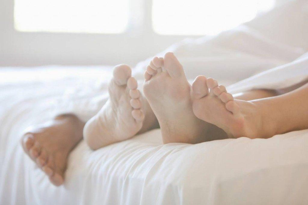 Ночью потеют ноги под одеялом