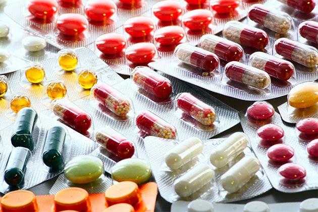 Препараты для лечения гипергидроза