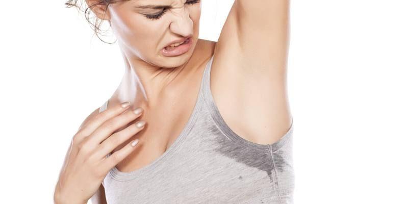 Определить симптомы гипергидроза