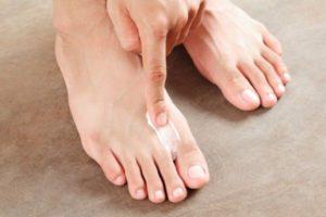 мазь от пота ног