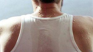 Эндокринные причины потливости спины