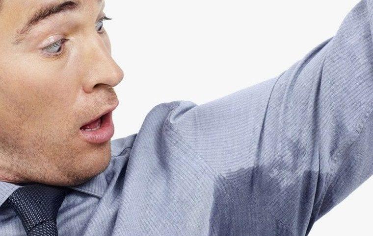 Стресс и мокрые и мокрые подмышки