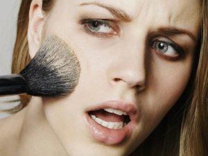 Аллергические проявления на декоративную косметику и лекарственные средства