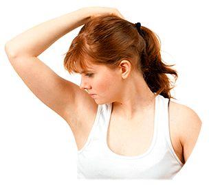 Причины неприятного запаха при потоотделении