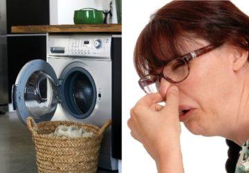 После стирки остается запах пота под мышками