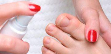 Спрей для ног от пота и запаха