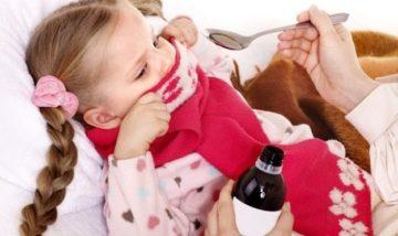 Ребенок вспотел после приема жаропонижающих