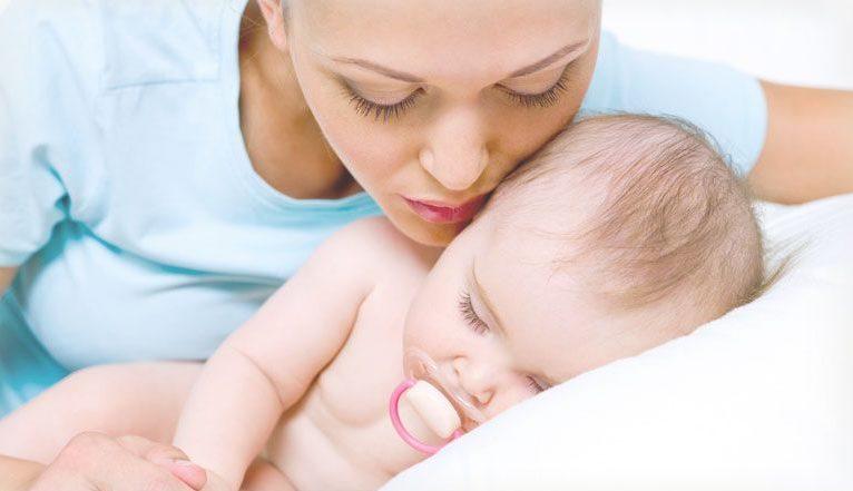 У новорожденных