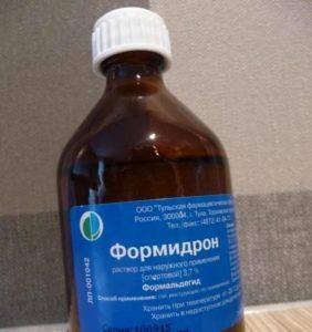 Препараты на основе формальдегида
