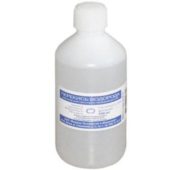 Перекись водорода от потливости и запаха