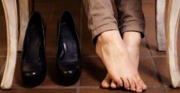 почему потеют ноги в обуви