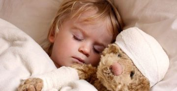 Потливость у ребенка после болезни