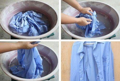 Отстирываем рубашку