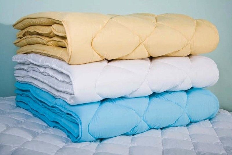 Виды одеял и их наполнителей