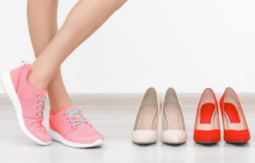 Как выбрать обувь, чтобы ноги не потели