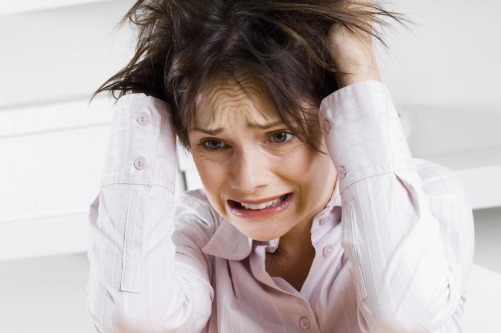 Психологические причины и нервное напряжение