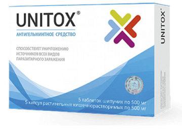 unitox от паразитов