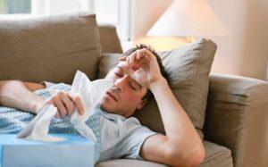 холодный пот во время болезни