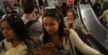 Как не потеть в метро