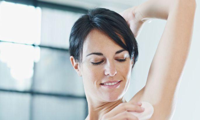 Как работает дезодорант